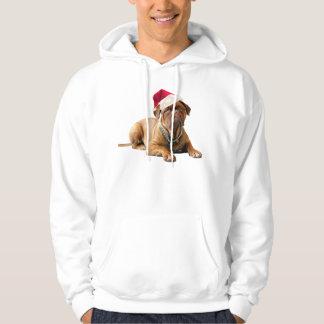 Christmas Bordeauxdog Hoodie