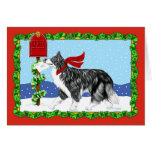 Christmas Border Collie Mail Cards