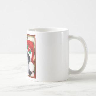 Christmas Boston terrier Coffee Mugs