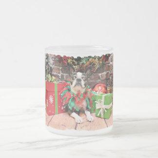 Christmas - Boston Terrier - Natty Coffee Mugs