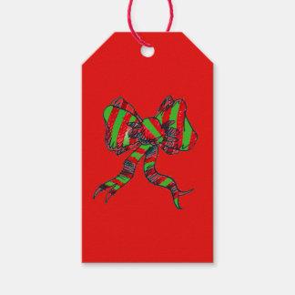 Christmas Bow Gift Tags
