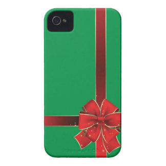 Christmas Bows Green iPhone 4 Case-Mate Case