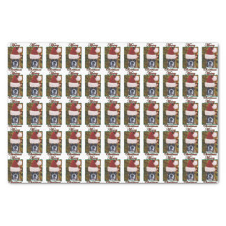 Christmas Boxer dog Tissue Paper