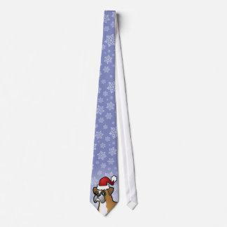 Christmas Boxer Tie
