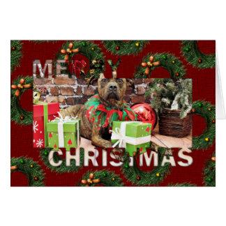 Christmas - Boxer X - Kita Greeting Card