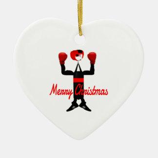 Christmas Boxing Cartoon Christmas Ornament