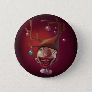 Christmas boy 6 cm round badge