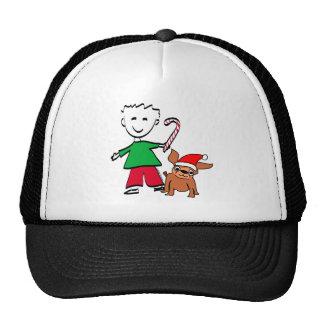 Christmas Boy Trucker Hats