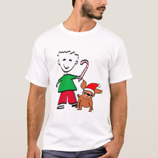 Christmas Boy Tee Shirt