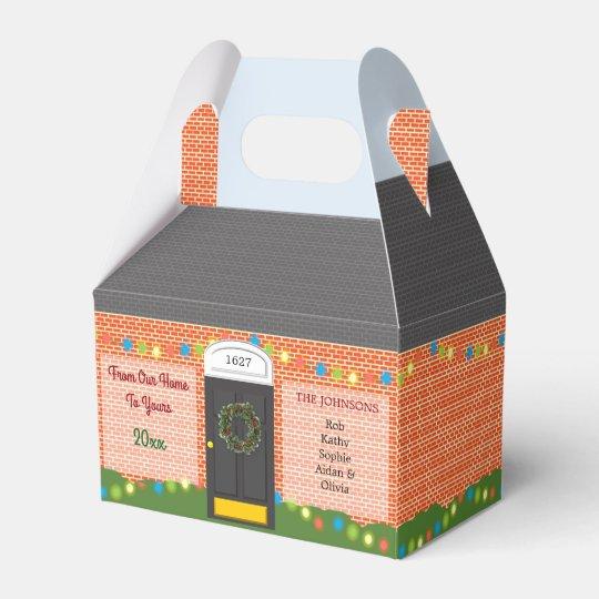 Christmas Brick Home Personalised Holiday Box