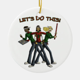 Christmas Brigade Ornament
