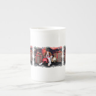Christmas - Brittany - Charlie Porcelain Mugs
