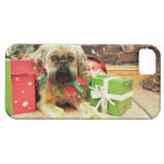 Christmas - Brussels Griffon - Oliver iPhone 5 Cover