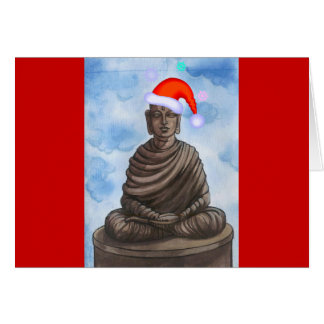 Christmas Buddha! Card