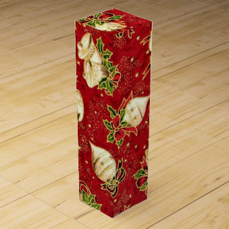 Christmas Bulb pattern wine gift box