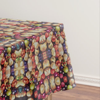 CHRISTMAS BULBS  table cloth