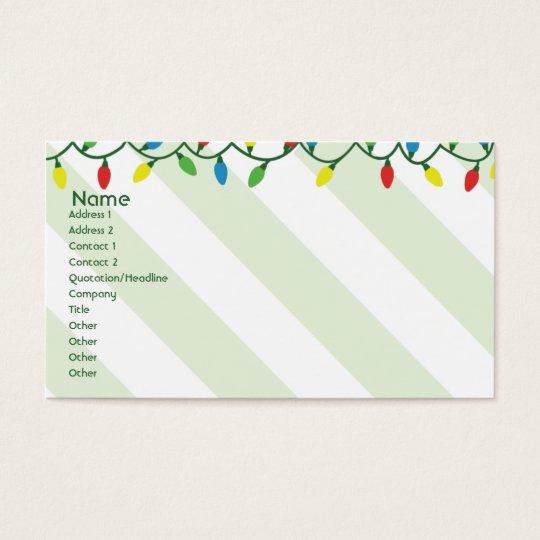 Christmas - Business Business Card