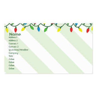 Christmas - Business Pack Of Standard Business Cards