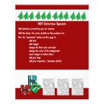Christmas business promotional marketing leaflets