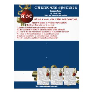 Christmas business promotional marketing leaflets flyers