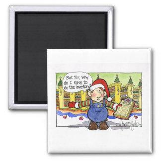 Christmas But Sir Cartoon No 9 Refrigerator Magnets