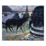 Christmas by Eugène Henri Paul Gauguin Poster