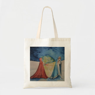 Christmas By Lantern Light Budget Tote Bag