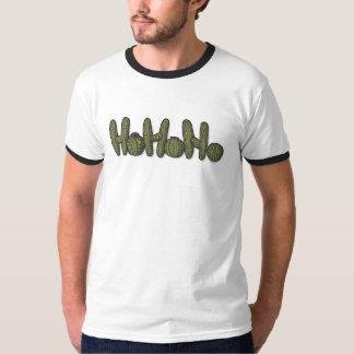 Christmas Cacti ringer T Shirt