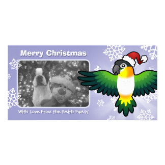 Christmas Caique / Lovebird / Pionus / Parrot Card