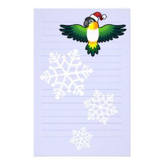 Christmas Caique / Lovebird / Pionus / Parrot Stationery