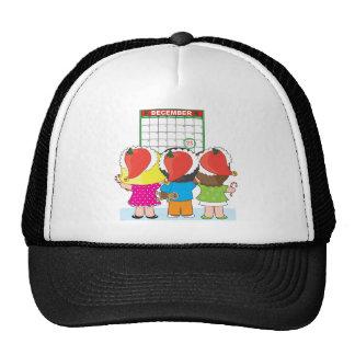 Christmas Calendar Cap