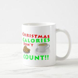 Christmas Calories Don t Count Humor Funny Coffee Mugs