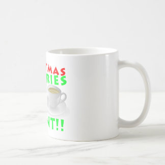 Christmas Calories Don't Count Humor Funny Coffee Mug