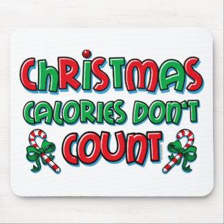 Christmas Calories Mouse Pad
