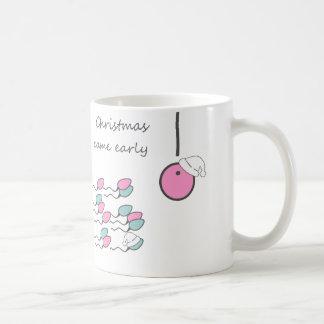 Christmas came early! Pregnant Mug