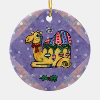 Christmas Camel Whimsical Tree Ornament