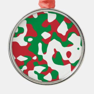 Christmas Camouflage Christmas Ornament