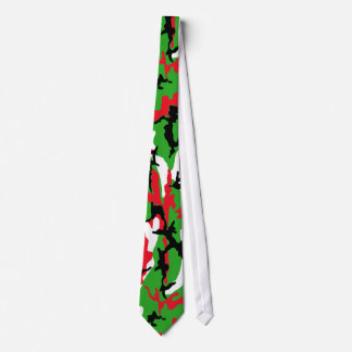 Christmas Camouflage Neck Tie