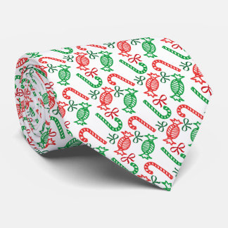 Christmas Candies necktie red/green/white