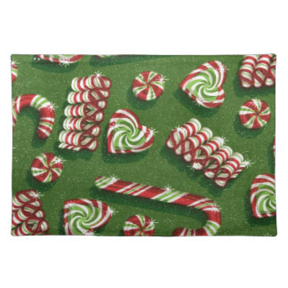 christmas candies place mats