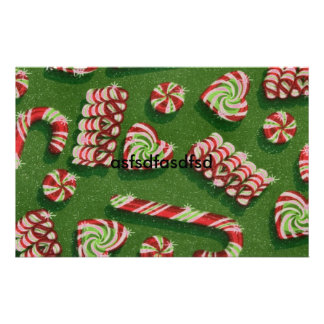 christmas candies stationery