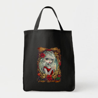 Christmas Candle angel fairy Bag