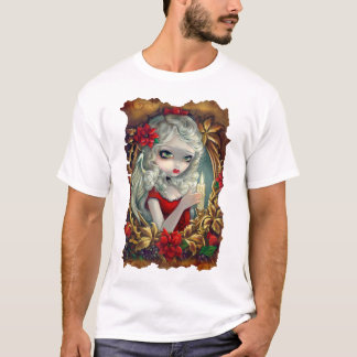 Christmas Candle angel fairy Shirt