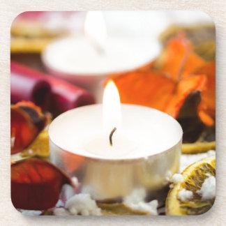 Christmas Candle Coaster