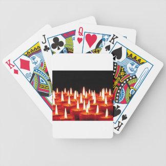 Christmas Candles Poker Deck
