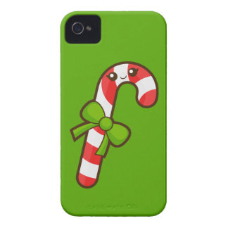 Christmas Candy Cane Blackberry Bold Cover