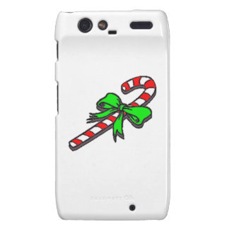 Christmas Candy Cane Droid RAZR Cover
