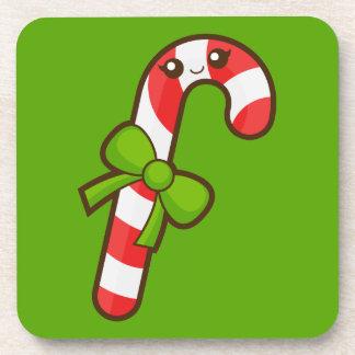 Christmas Candy Cane Coaster