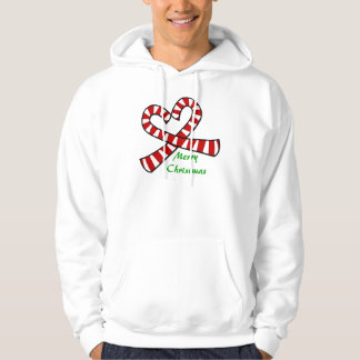 Christmas Candy Cane Heart Shirt