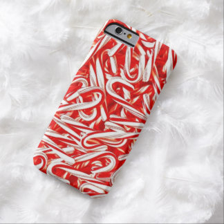 Christmas Candy Cane iPhone 6 case
